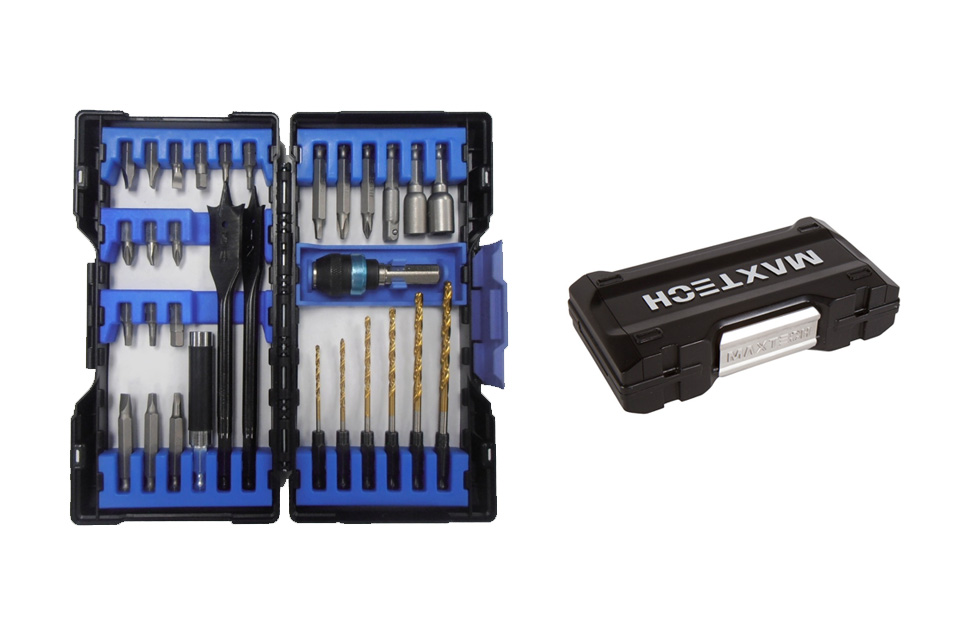31 pc Quik Load Drill & Drive Woodworking Set