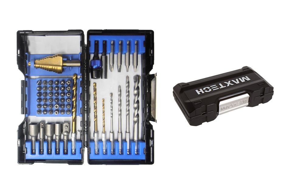 55 Pc Quik Load Electrician Drill & Drive Set