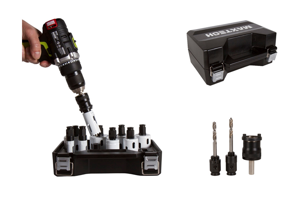 Pro Quik Connect Hole Saw System
